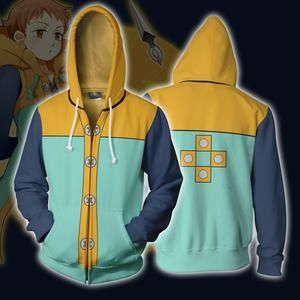 Meliodas Dragon Sin of Wrath Seven Deadly Sins Anime Manga Men//Women Unisex Hoodie