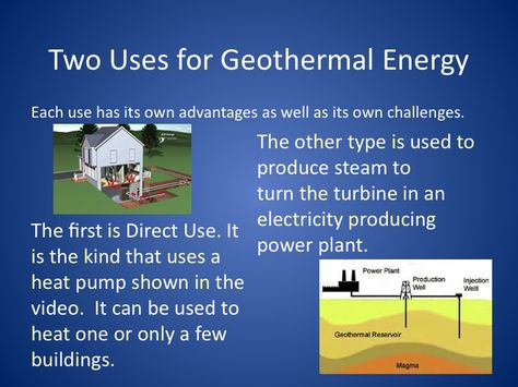 Pin On Geothermal Energy