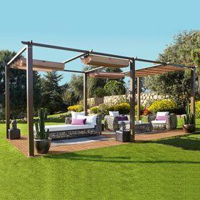 Pergola De Acero Marruecos 6x3 Pergola Outdoor Outdoor Structures