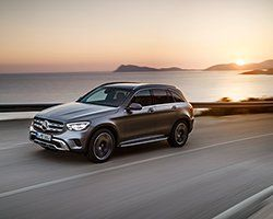 2020 Mercedes Benz Glc Defined By A More Muscularly Sculpted