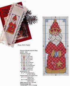 Spunti Per Regali Di Natale.Belle Idee A Punto Croce Per I Regali Di Natale Segnalibri