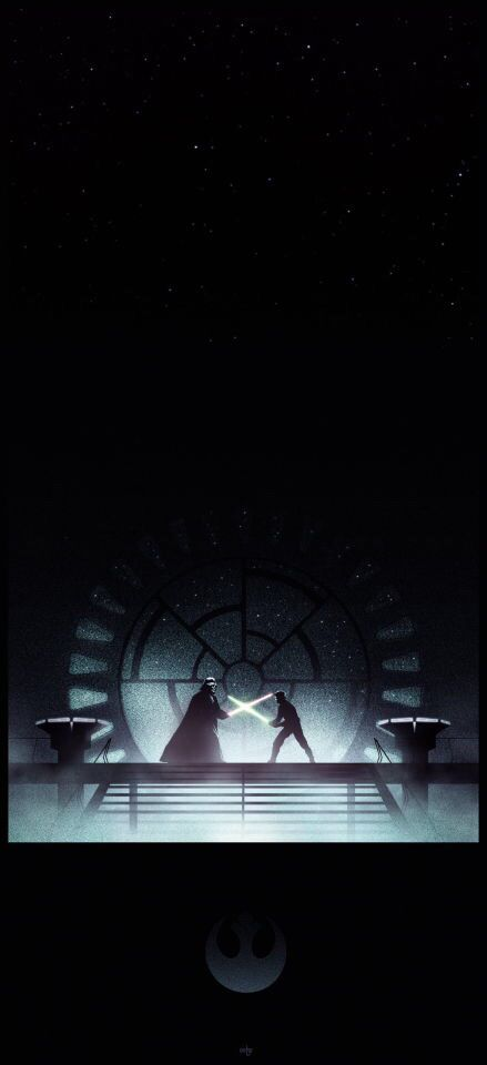 Star Wars Darth Vader And Luke Star Wars Poster Star Wars Painting Star Wars Light Saber