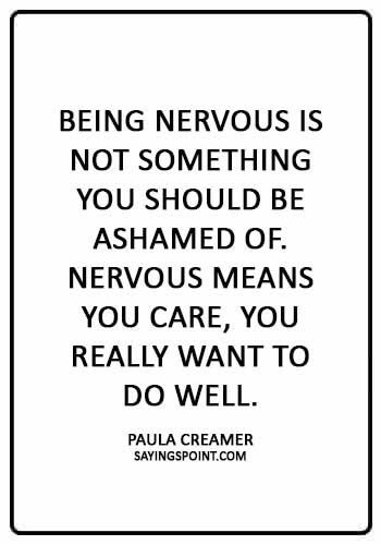 Nervous Quotes Nervous Quotes My Mind Quotes Shy Quotes