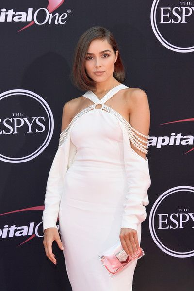 Olivia Culpo attends the 2017 ESPYS.