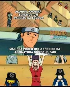 Praca Memes Engracados Naruto Piadas De Naruto Naruto Memes