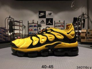 New Style Nike Air Max Plus TN Yellow Black Sneakers Men's