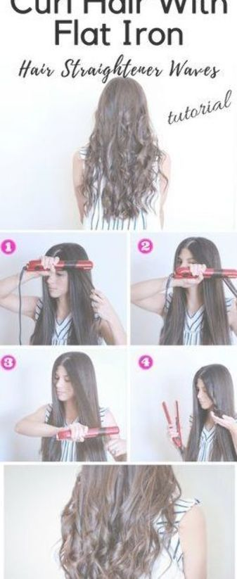 Flat iron hacks for flawless waves!!Wavy Hair Tutorial Using