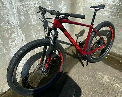Sponsored Ebay 2020 Specialized Epic Expert Hardtail Large Gloss Metallic Crimson Rocket Red In 2020 Red Bike Specialized Mountain Bikes Bikes For Sale