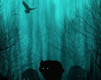 Peinture de ciel de nuit peinture acrylique art par TheMindBlossom