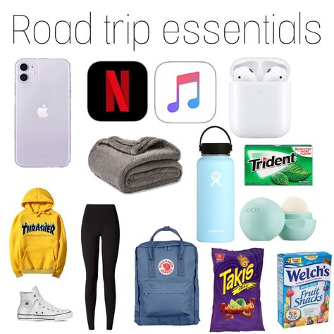 Travel Packing Checklist, Road Trip Packing List, Road Trip Hacks, Road Trips, Road Trip Checklist, Packing Lists, Packing Cubes, Travel Bag Essentials, Travel Necessities