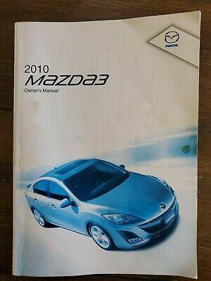 2010 Mazda 3 Owners Manual Ebay In 2020 Owners Manuals Mazda Mazda 3