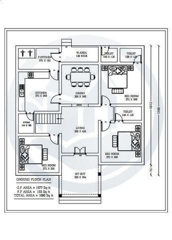 1680 Square Feet Amazing And Beautiful Kerala Home Design Plan