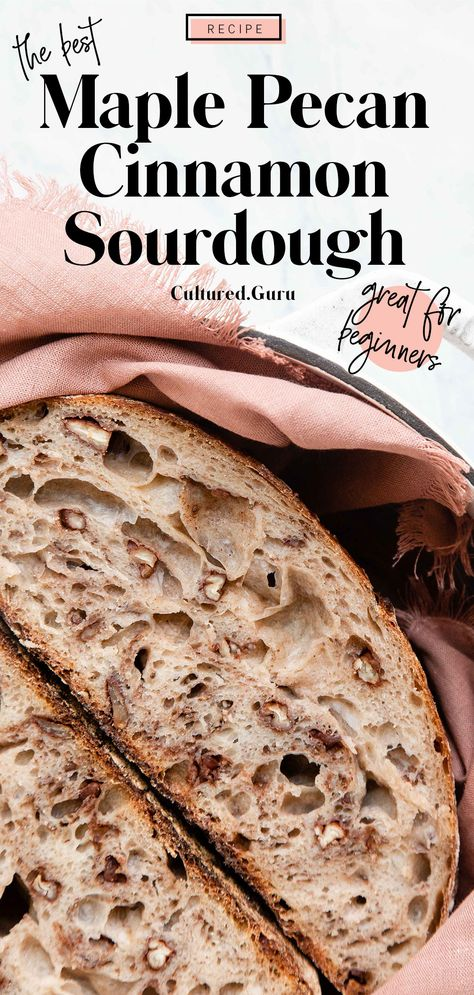 Yeast Bread Recipes, Sourdough Recipes, Amish Recipes, Dutch Recipes, Dutch Oven Bread, Sourdough Bread Recipe Dutch Oven, Maple Pecan, Vegan Bread, Kitchen Recipes