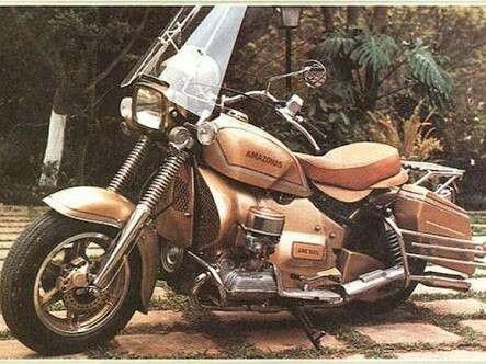 Motociclista Amazonas Fusca Harley Davidson E Motos