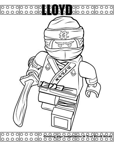 Coloring Page Ninja Lloyd Nyomtathato Szinezok Nyomtathato Es