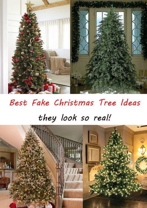 c09bd83d84ce1cae35cde476fd345fdf realistic artificial christmas trees christmas tree ideas