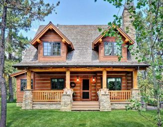 Best Small Log Cabin Ideas With Awesome Decoration 15 In 2020 Small Log Home Plans Log Cabin Floor Plans Small Log Homes