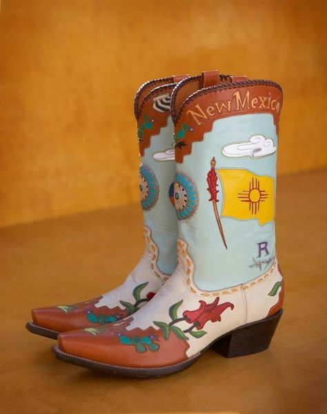 Cowgirl boots New Mexico