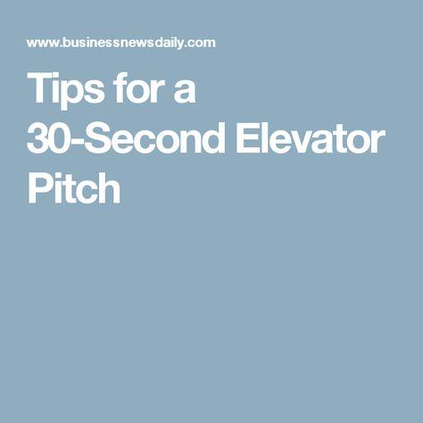 Elevator Pitch  Produktivita    Pitch