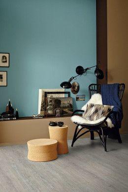 Schoner Wohnen Fohr Onloom Korkklickboden Wohnen Schoner Wohnen Wandfarbe Wohnzimmer