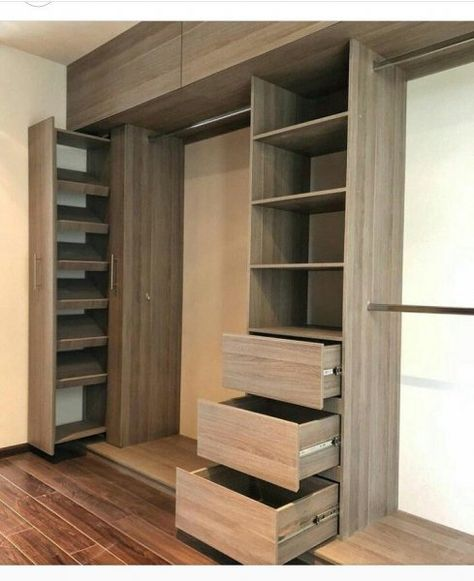Amazing Bedroom Clothes Cabinet Wardrobe Design - Engineering Discoveries