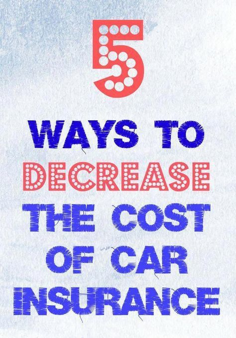 5 Ways to Decrease the Cost of Car Insurance #AutoXplained - Frugal Mom Eh!
