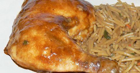 Poitrine de poulet à l.ananas