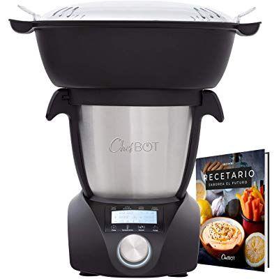 Ikohs Chefbot Compact Con Vaporera Robot De Cocina Multifunción Compacto Cocina Al Vapor 23 Funciones Robot De Cocina Cocina Al Vapor Cocina Inteligente