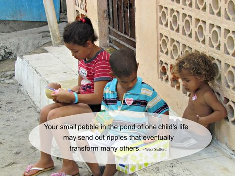 """""""Children in the DR are just like children anywhere. They love electronics. But they also need to know they are seen and that they have value."""" #CompassionBloggers"""
