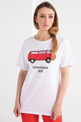 araba baskili t shirt