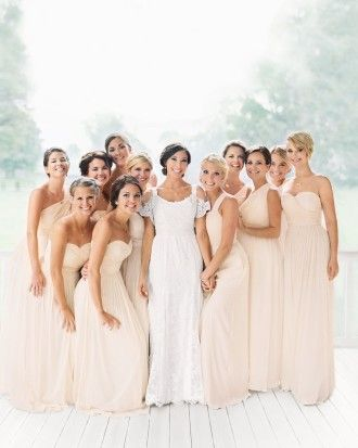 Jennifer Lawrence Like Never Before In A JCrew Bridal Party