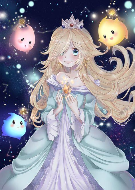 Rosalina by circen on DeviantArt Favorite Character, Mario Nintendo, Super Mario Art, Game Character, Anime, Fan Art