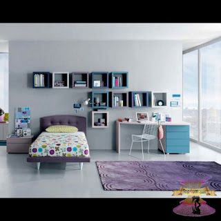 ارقى وأجمل الوان غرف نوم اطفال 2021 Teenage Girl Bedrooms Teenage Girl Bed Girls Room Design