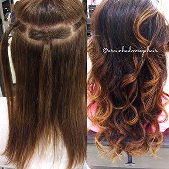 Tecnica Arabesko Mega Hair Perfeito Realizada Por Ingrid