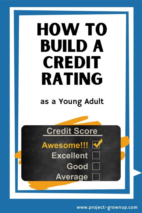 Start to Build Your Credit Rating