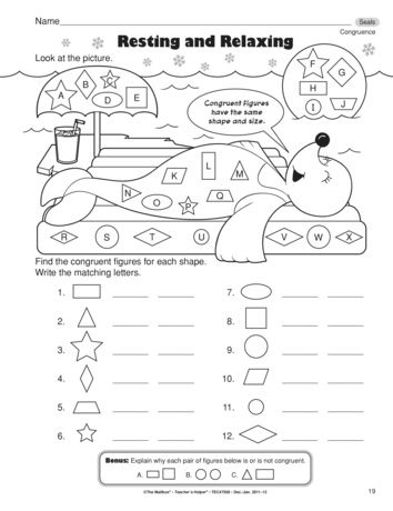 A Super Math Worksheet For Assessing Your Students Understanding Of Congruence Free At Themailbox Com Math Worksheet Homeschool Math Math
