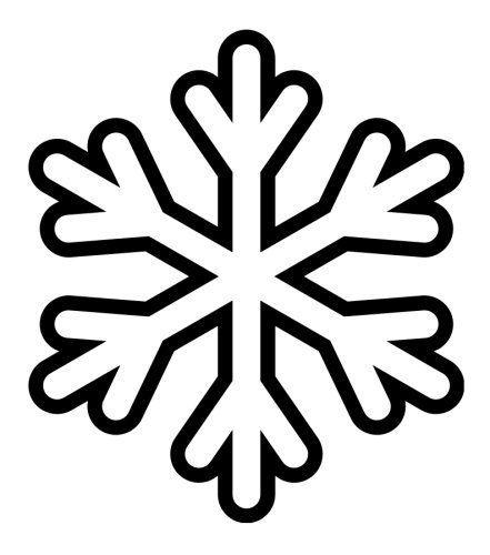 Kar Taneleri Boyama Sayfasi 2 2020 Ip Sanati