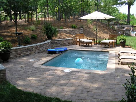 Image result for creating privacy around inground pools Outdoor
