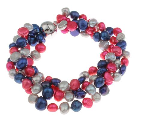 TreasureBay Red Coral Women's Bracelet 17cm - Presented in a Beautiful jewellery Gift Box 8P97YZY
