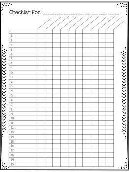 photo about Free Printable Grade Sheets identify Editable Quality Sheets and Checklists for Instructors Absolutely free