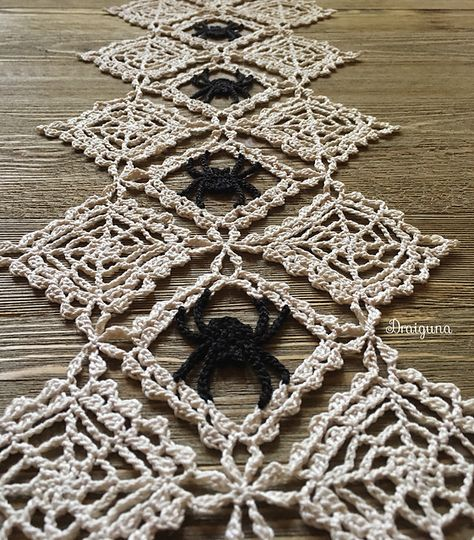 Best 11 Halloween coasters set of 6 crochet spider web coasters by NatkaLV – SkillOfKing. Halloween Crochet Patterns, Crochet Doily Patterns, Crochet Doilies, Thread Crochet, Knitting Patterns, Holiday Crochet, Crochet Home, Diy Crochet, Crochet Crafts