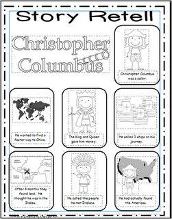 Week 2 Christopher Columbus Language History Story Retelling Have G Write A Kindergarten Social Studies Teaching Social Studies Homeschool Social Studies
