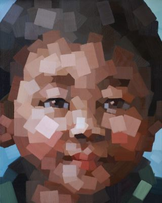 CHILDREN FROM THE MOUNTAIN-1, Li Yueling (李月領; b1971, Hebei Province, China)