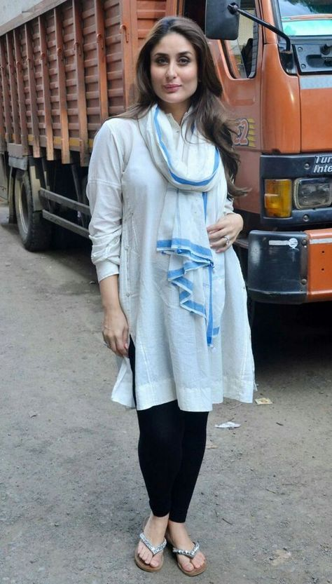 Only Kareena can make such a shabby outfit work