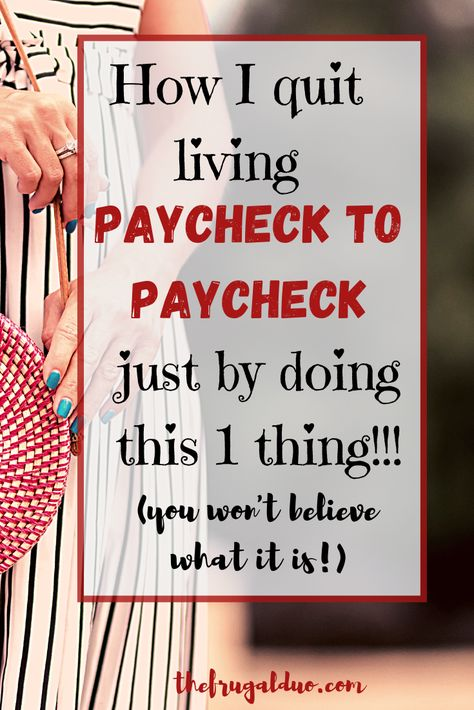 Are you tired of living paycheck to paycheck? Are you ready to take charge of your money? You won't believe what I do everyday to save more money each month! #savemoney #moremoney #frugalliving #spendless #savemoremoney