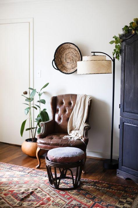 chair, colors, plant. california