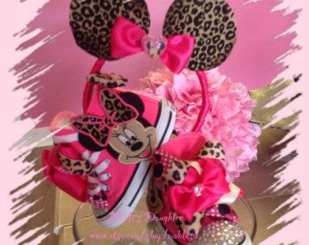 Minnie Mouse Bling Converse di MablesD su Etsy   Pancakes