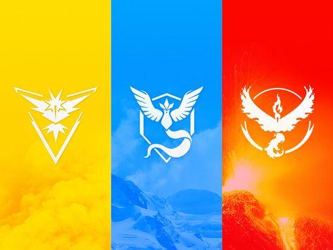 Pokemon Go Team Logos Vector Download Pokemon Teams Pokemon Go Team Instinct Pokemon