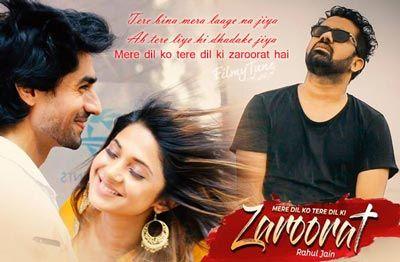 Mere Dil Ko Tere Dil Ki Zaroorat Hai Lyrics Bepannah Colorstv Latest Bollywood Songs Bollywood Songs Album Songs