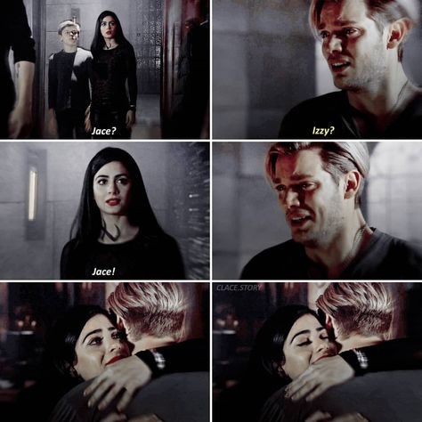 3x08 This was such a beautiful and emotional scene 💔😢 - [ #shadowhunters #clace #jalec #claryfray #jaceherondale #isabellelightwood…